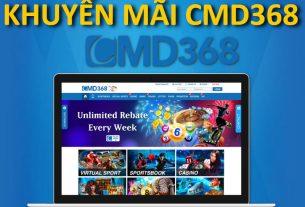 cmd368 khuyến mãi