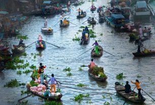 Mộng thấy dòng sông nên đánh đề con gì?