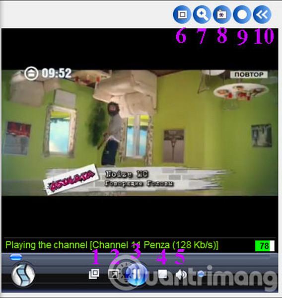 Cách dùng Sopcast xem bóng đá trực tuyến 6