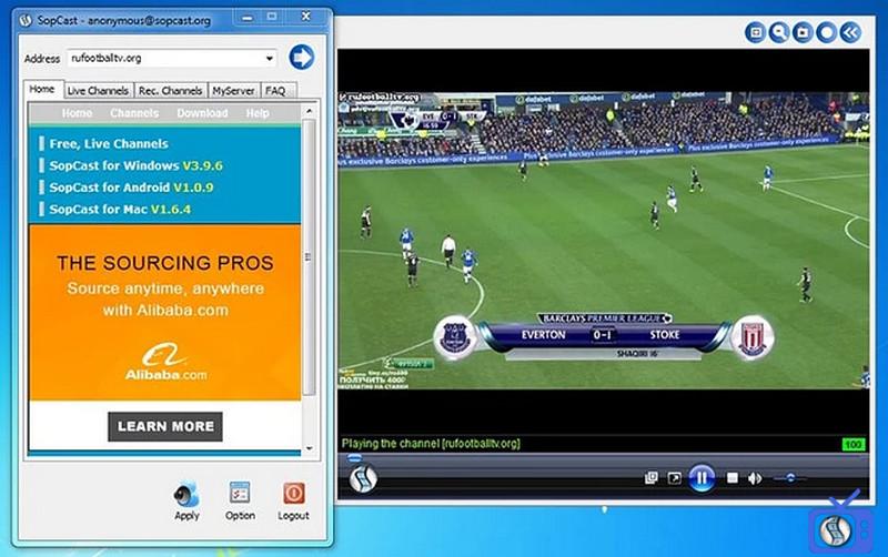 Cách lấy link Sopcast dễ dàng, nhanh chóng nhất 1