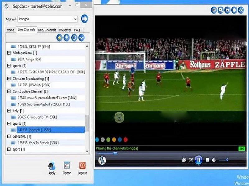 Cách lấy link Sopcast dễ dàng, nhanh chóng nhất 2