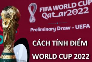 Cách tính điểm World Cup 2022