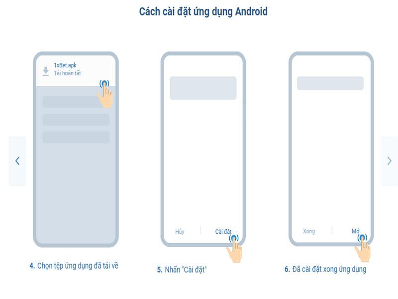 Tìm hiểu về ứng dụng 1xBet di động và cách tải ứng dụng về điện thoại