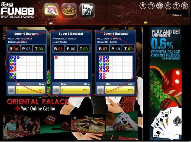 Hướng dẫn chơi Baccarat trực tuyến tại nhà cái Fun88