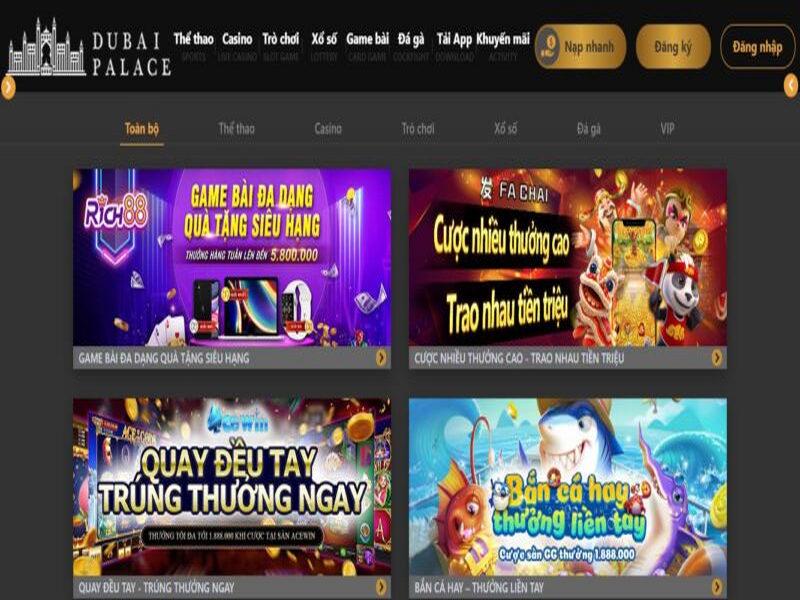Hướng dẫn chơi Baccarat trực tuyến tại nhà cái Dubai Casino