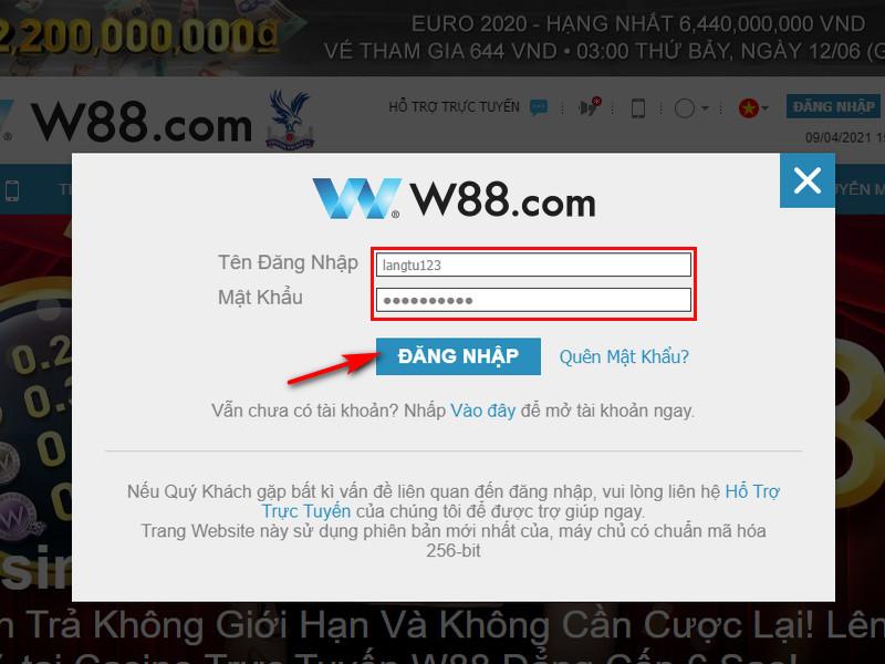 Hướng dẫn chơi game đua xe cá cược online tại W88 1
