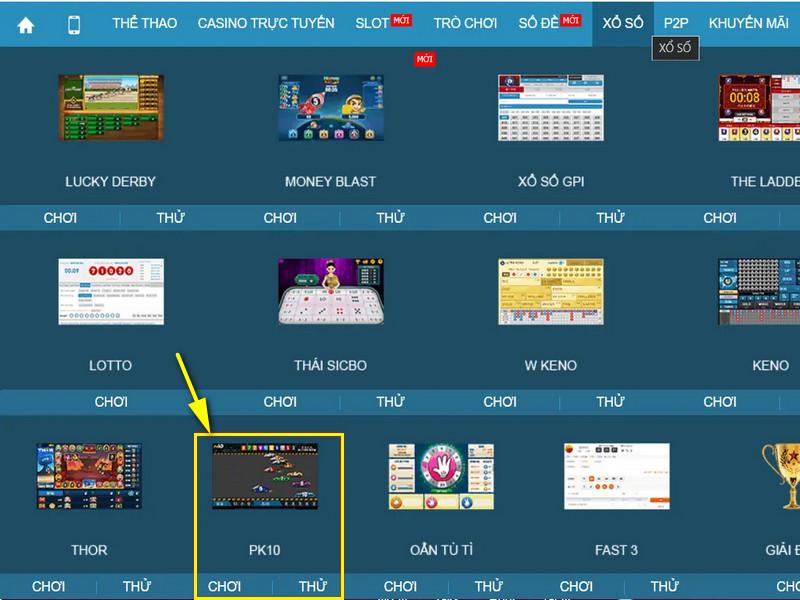 Hướng dẫn chơi game đua xe cá cược online tại W88 2