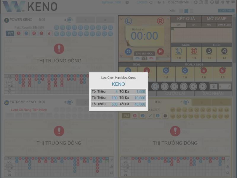 Tìm hiểu về Keno và cách chơi Keno tại nhà cái cá cược W88