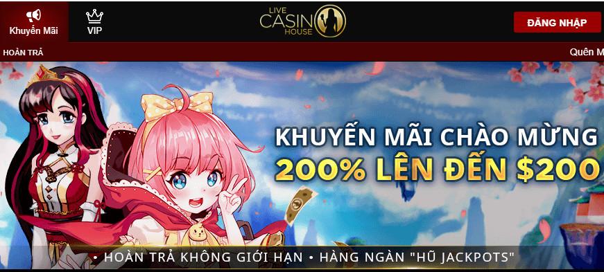 Tìm hiểu những chương trình khuyến mãi có tại nhà cái Live Casino House