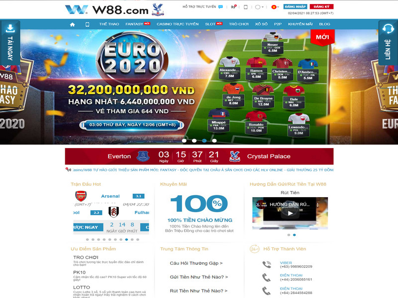 W88 có uy tín không? Có an toàn để chơi cá cược hay không?