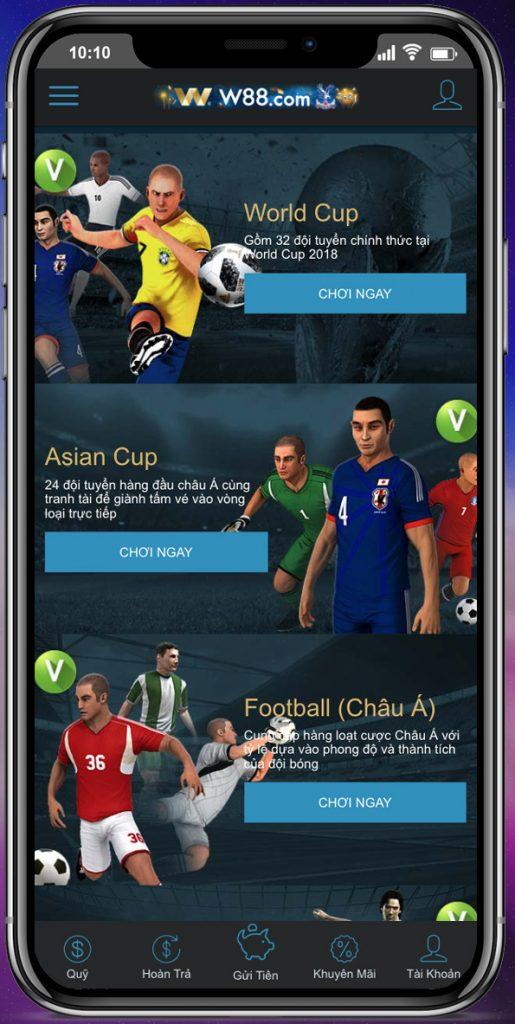 Tìm hiểu về hình thức cá độ bóng đá trên điện thoại