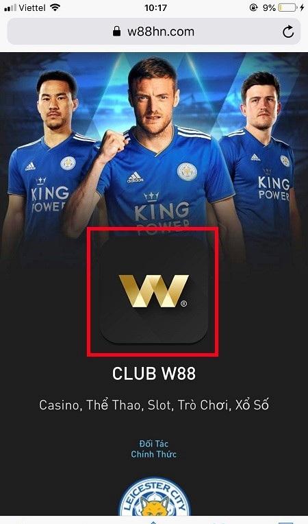 Hướng dẫn cách chơi casino trực tuyến thông qua ứng dụng W88 di động