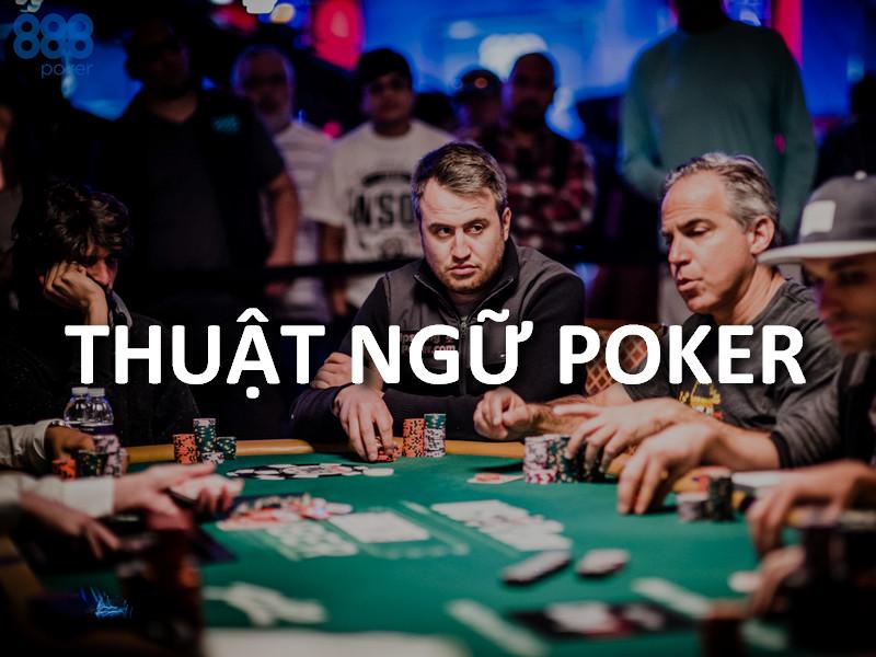 thuật ngữ poker