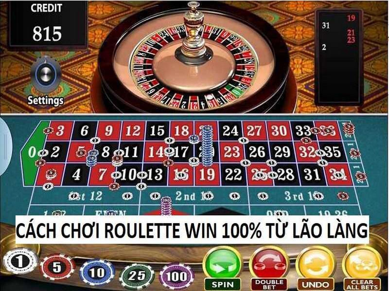 Tìm hiểu về cách chơi Roulette hiệu quả