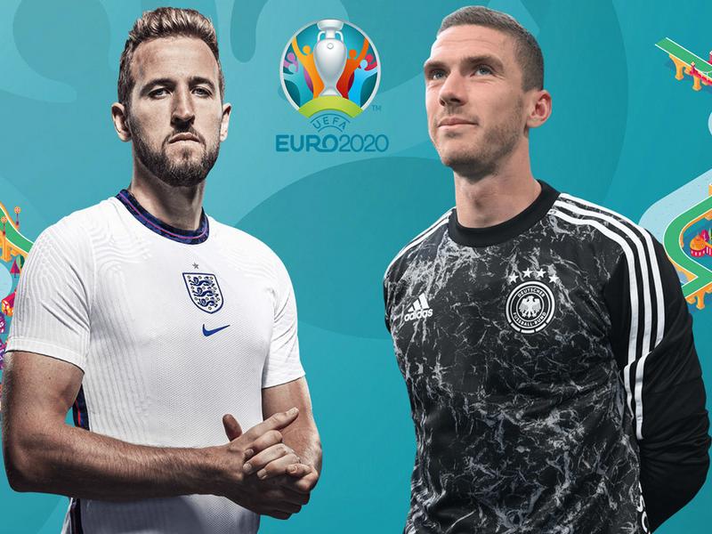 Anh vs Đức tại vòng 1/8 EURO 2020: Trận cầu siêu kinh điển