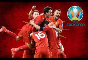Bắc Macedonia thể hiện tinh thần bất khuất tại EURO 2021