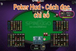 Chỉ số HUD - Tìm hiểu về cách đọc chỉ số trong Poker