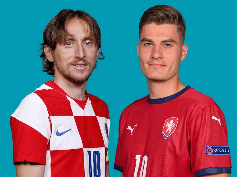 Đội hình ra sân dự kiến Croatia vs CH Séc tại bảng D EURO 2021 1