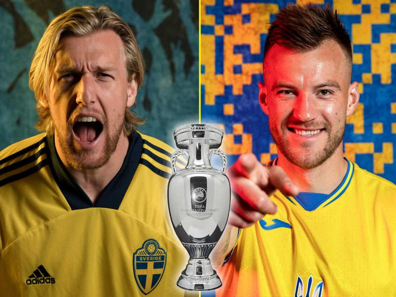 Đội hình Thụy Điển vs Ukraina tại vòng 1/8 Euro 2021 1