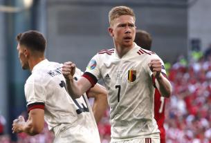 ĐT Bỉ 'hồi hộp' chờ tin từ Hazard và De Bruyne