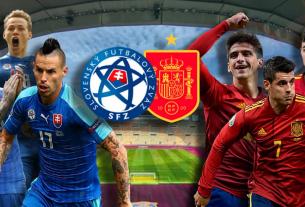 ĐT Tây Ban Nha thi đấu thăng hoa trước Slovakia, xác lập kỷ lúc tại Euro 2021