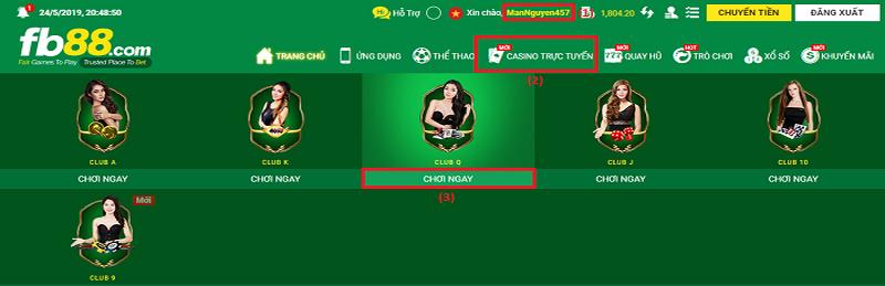Hướng dẫn cách chơi Rồng Hổ online tại nhà cái FB88
