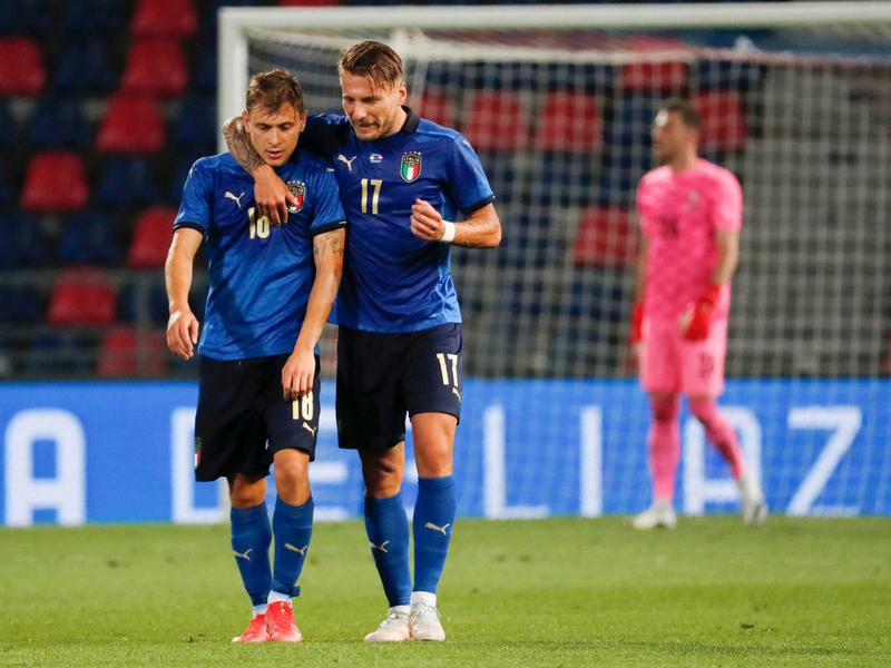 Italy đến đấu trường EURO 2020 cùng màu xanh hy vọng 1