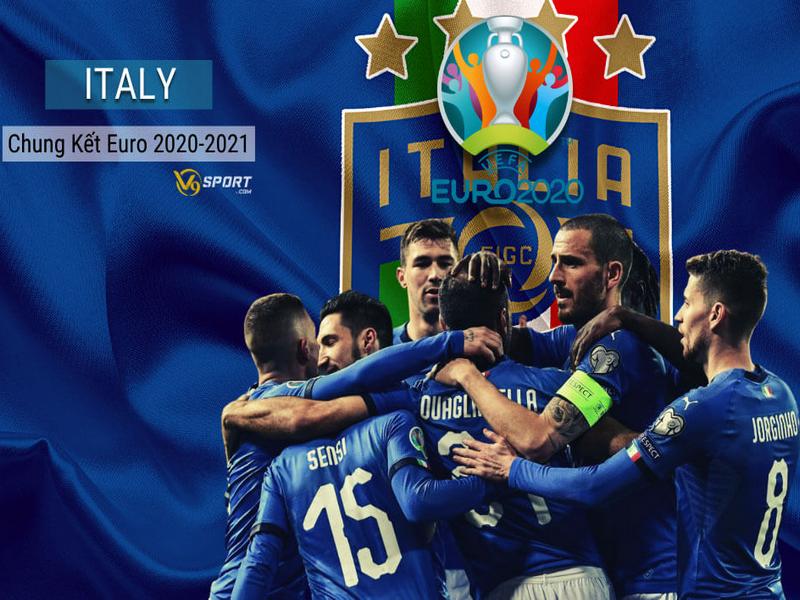 Italy đến đấu trường EURO 2020 cùng màu xanh hy vọng
