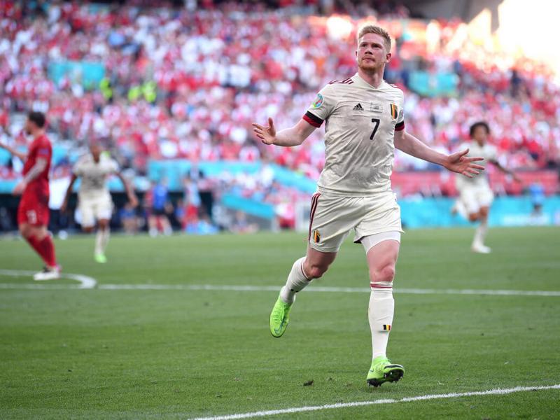 Kết quả Euro 2021 Bỉ vs Đan Mạch 18/6: Kevin de Bruyne như thủ lĩnh dải ngân hà 1