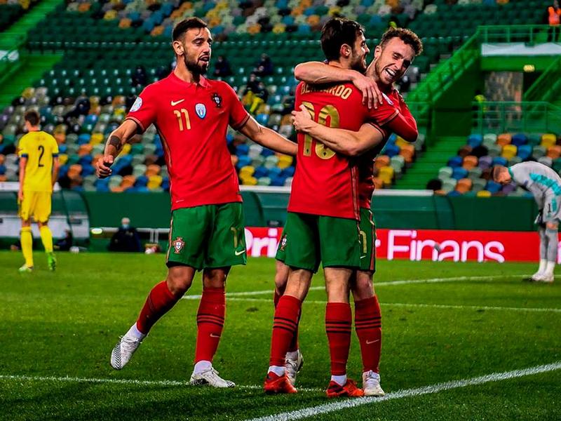 Khả năng Bồ Đào Nha vượt vòng bảng EURO 2021 là gần 100% 1