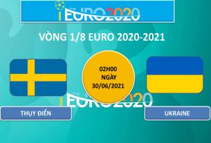 Khó có bất ngờ trong trận đấu giữa Thụy Điển vs Ukraine tại vòng 1/8 Euro 2020