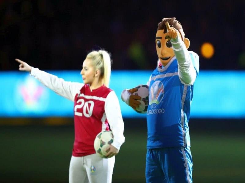 Linh vật biểu tượng cho Euro 2021 là gì?