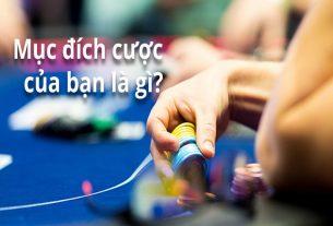 Lý giải vì sao bạn cần có mục đích khi đặt cược trong Poker?