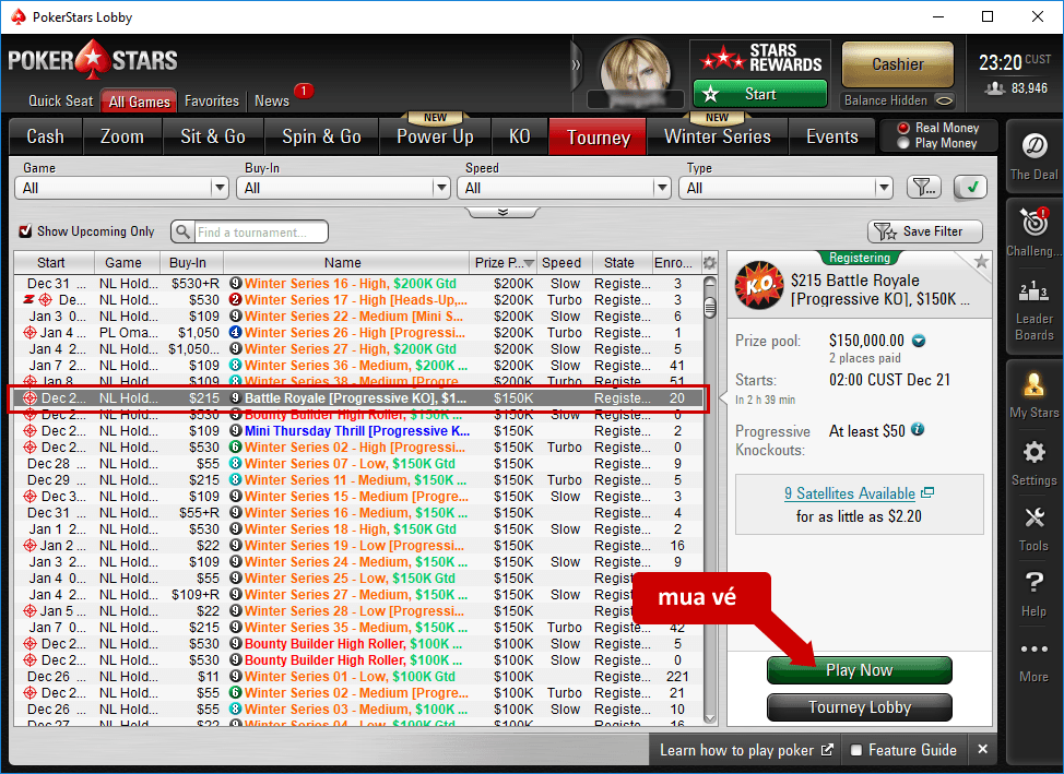 PokerStars là gì? Cách tham gia chơi poker trên PokerStars