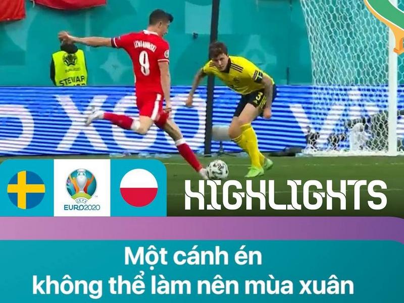 Robert Lewandowski để lại dấu ấn đẹp tại EURO 2021