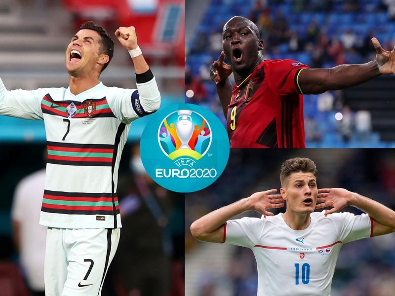 Ronaldo cạnh tranh với Patrik Schick trong cuộc đua danh hiệu Vua phá lưới EURO 2021