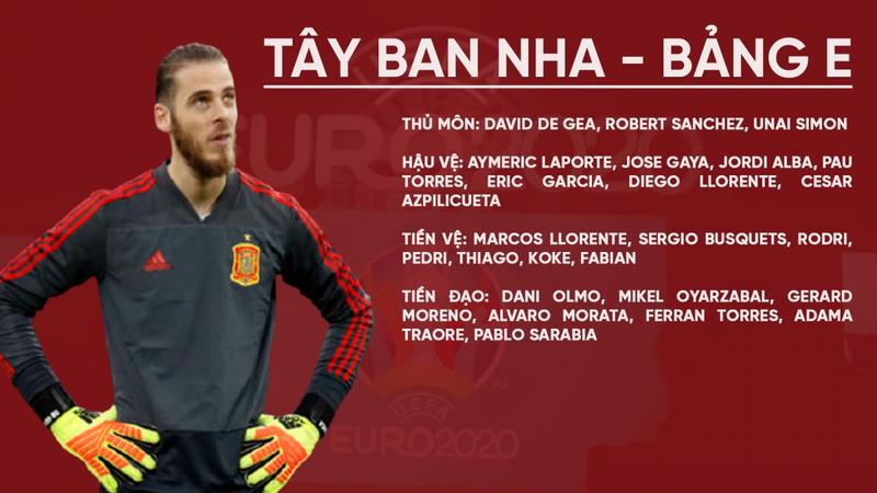 Soi sức mạnh các đội trong bảng E - EURO 2021 1
