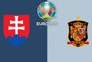 Tây Ban Nha buộc phải thắng Slovakia tại Bảng E EURO 2021