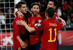 Tây Ban Nha là đội kiểm soát bóng tốt nhất vòng bảng EURO 2021