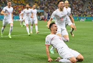 Thụy Sĩ loại Đương kim vô địch thế giới Pháp khỏi Euro 2020