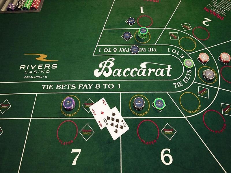 Tìm hiểu các thế bài thường gặp khi chơi Baccarat online