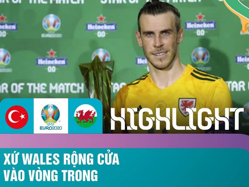 Xứ Wales dễ dàng mang về chiến thắng đầu tiên tại Euro 2021