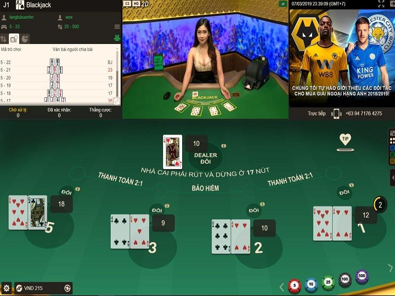 3 sai lầm thường gặp khi cầm bộ 19 mềm trong Blackjack