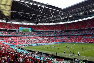 Anh tăng sức chứa sân Wembley ở trận chung kết EURO 2020 để 'áp đảo' tuyển Ý