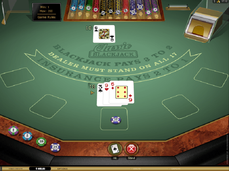 Biến thể Blackjack trực tuyến với tỷ lệ lợi nhuận nhà cái thấp nhất