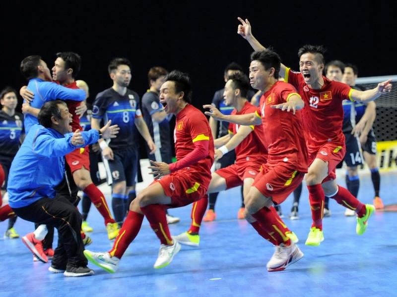 ĐTQG Futsal Việt Nam nhận nhiệm vụ mới ở World Cup 2021