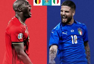 EURO 2020: Thành tích đối đầu của ĐT Bỉ hoàn toàn lép vế trước Italia