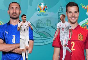 Euro 2020: Tuyển Tây Ban Nha vắng Sarabia, tuyển Ý đau đầu cánh trái