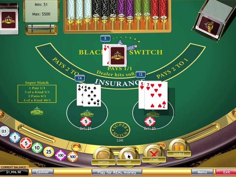 Giới thiệu về Blackjack Switch tại các nhà cái casino trực tuyến