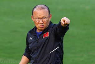 HLV Park Hang Seo trở lại Việt Nam, chuẩn bị cho VL World Cup 2022